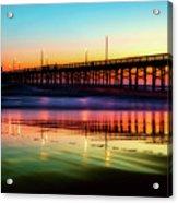 Newport Beach Pier At Sunrise Acrylic Print