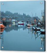 Newport Fishing Boats Acrylic Print