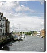 Newport Harbour Iow Acrylic Print