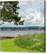 Newport-on-tay In Fife, Scotland Acrylic Print
