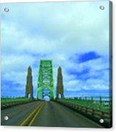 Newport Oregon Bridge Acrylic Print
