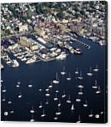 Newport R I Aerial View Acrylic Print
