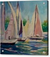 Newport Regatta  Acrylic Print