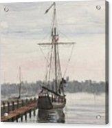 Newport, Rhode Island Acrylic Print by Rosemary Kavanagh