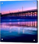 Newport Sunset Acrylic Print