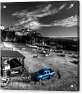 Newquay Harbour  Pickup  Acrylic Print