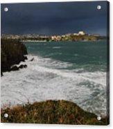 Newquay Squalls On Horizon Acrylic Print