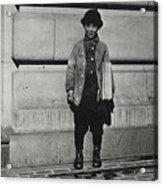 Newsboy, 1909 Acrylic Print