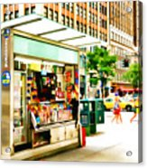 Newsstand Acrylic Print