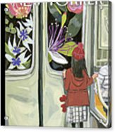 Next Stop Spring Acrylic Print