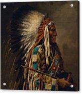 Nez Perce Chief Acrylic Print