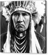 Nez Perce Native American - To License For Professional Use Visit Granger.com Acrylic Print