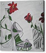 Nfl Eagles Stiletto Acrylic Print