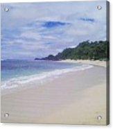 Ngliyep Beach Acrylic Print