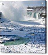Niagara Falls Frozen  II Acrylic Print