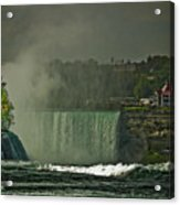 Niagara Falls In Autumn Acrylic Print