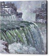 Niagara Falls In Winter  Acrylic Print