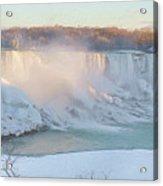 Niagara Falls In Wintertime Acrylic Print