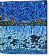 Niagara Falls - Night Acrylic Print