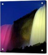 Niagara Falls Nightly Illumination Acrylic Print