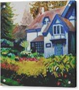 Niagara Garden Acrylic Print