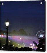 Niagara Glimmers Acrylic Print