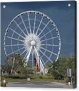 Niagara Skywheel Acrylic Print