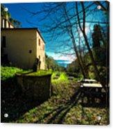 Niasca Hermitage I Portofino Park Passeggiate A Levante Acrylic Print