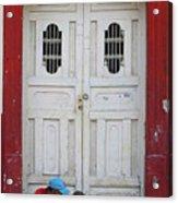 Nicaragua Door 1 Acrylic Print