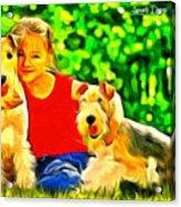 Nice Kids Acrylic Print