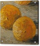 Nice Oranges Acrylic Print