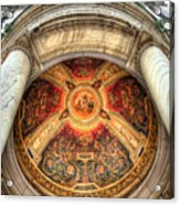 Niche Inlay 2-our Lady Of Victory Basilica Acrylic Print