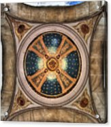 Niche Inlay At Our Lady Of Victory Acrylic Print