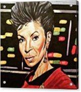 Uhura  Acrylic Print