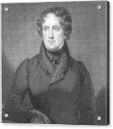 Nicholas Biddle (1786-1844) Acrylic Print