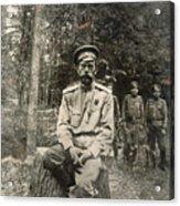 Nicholas II (1868-1918) Acrylic Print