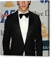 Nick Jonas In Attendance For Clive Acrylic Print by Everett