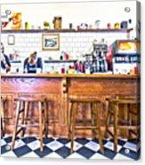 Nick's Diner Acrylic Print