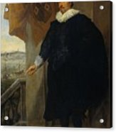 Nicolaes Van Der Borght, Merchant Of Antwerp Acrylic Print