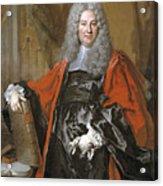 Nicolas De Largillirre Acrylic Print