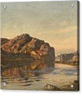 Nielsen, Amaldus Clarin 1838-1932 Morning, Ny-hellesund 1909 Acrylic Print