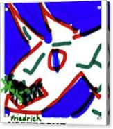 Nietzsche Poster Acrylic Print