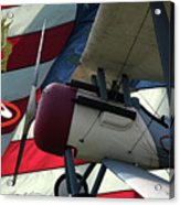 Nieuport 28c Hat In The Ring Acrylic Print