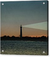 Night At Cape May Lighthouse Acrylic Print