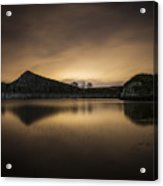 Night At Cawfields Acrylic Print