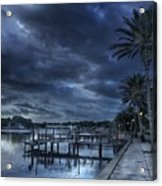 Night At The Bayou Acrylic Print