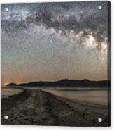 Night In The Black Rock Desert Acrylic Print