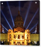 Night At The Palace Acrylic Print