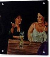 Night Bar Acrylic Print