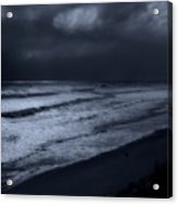 Night Beach - Jersey Shore Acrylic Print